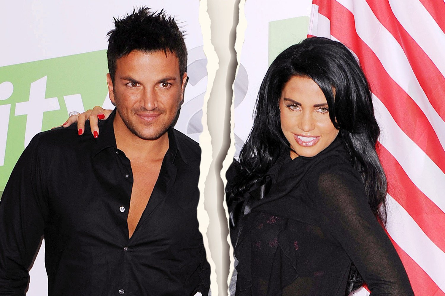 Why did Katie Price and Peter Andre split up, who has custody of their children and do they still talk?