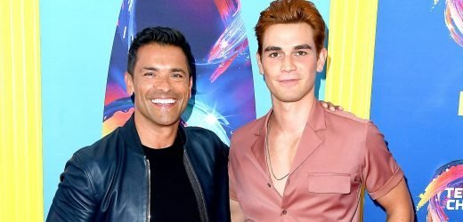 Holy Moly! Mark Consuelos Trolls KJ Apa With His Insanely Ripped Abs
