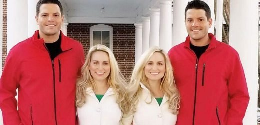 Identical twin sisters who married identical twin brothers plan to move in together and synchronise their pregnancies