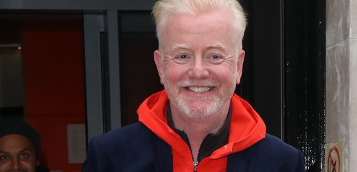 Chris Evans reveals he's seeing a knee specialist this week after injury put Strictly appearance at risk
