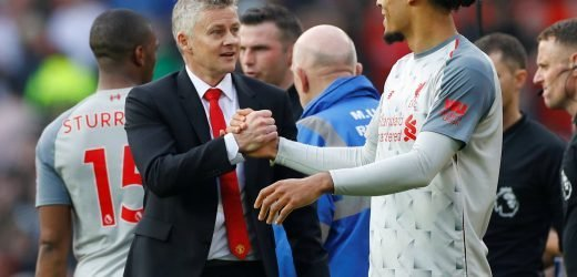 Solskjaer confirms he will NOT evict Van Dijk from £4m mansion Liverpool ace is renting from Man Utd boss