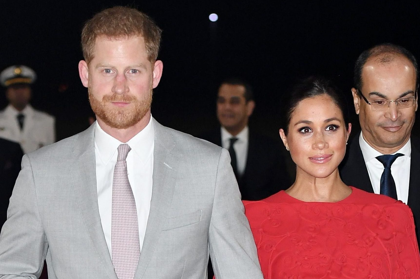 Pregnant Meghan Markle and Prince Harry sneak into London theatre to enjoy secret date night