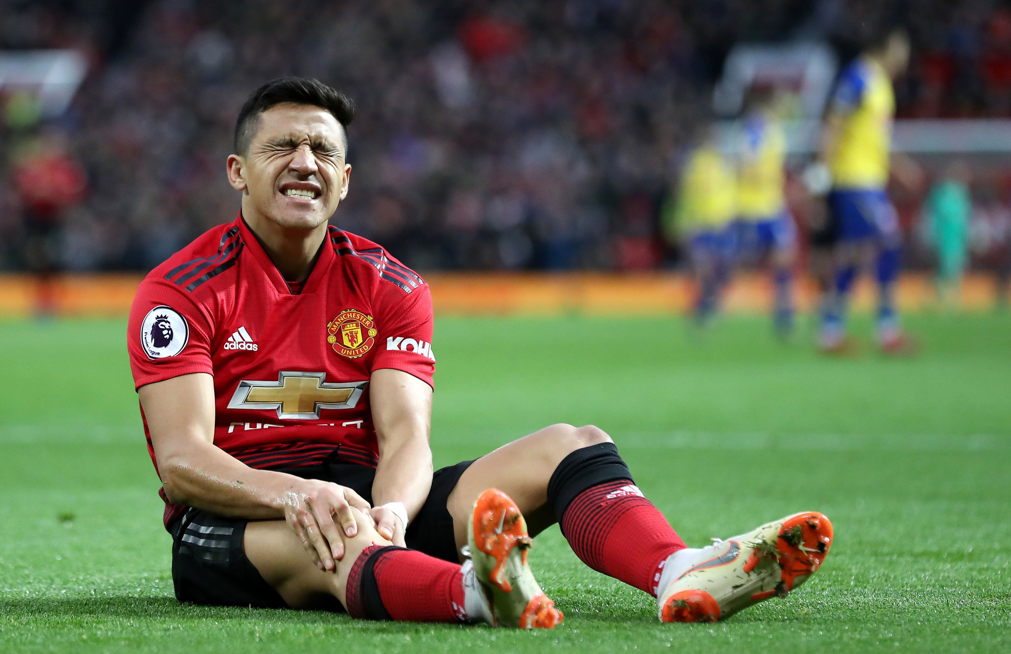 Alexis Sanchez in last-gasp attempt to prove Man Utd worth after flying to Spain for specialist treatment on knee injury