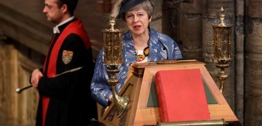 Theresa May uses Bible reading to send barbed message to EU that THEY need a good Brexit deal as well