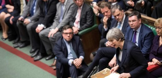 What time is today's Brexit vote and what's at stake for Theresa May?