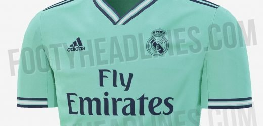 Real Madrid 2019-20 third kit leaked online… and fans unsure with sick green colour