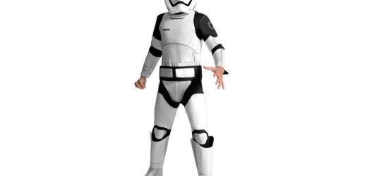 Star Wars Storm Trooper kids outfit sold on eBay withdrawn over fears it may go up in flames