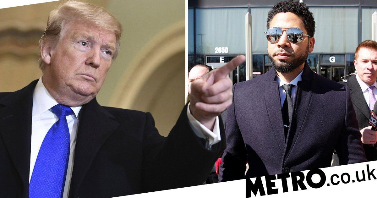 Donald Trump calls Jussie Smollett case a 'national embarrassment'