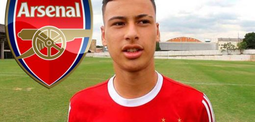 Arsenal set to beat 17 clubs to signature of teenage Brazilian striker Gabriel Martinelli if Brexit doesn't wreck deal