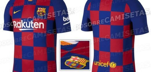 Barcelona 2019-20 home kit leaked – and they've ditched the famous stripes