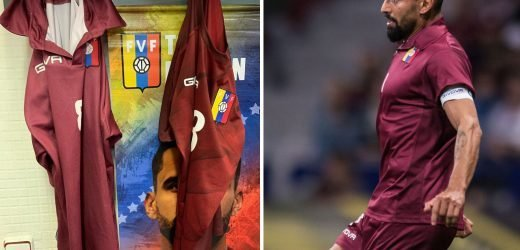 Venezuela captain Rincon furious as shirt supplier Givova fail to supply kit for Catalonia clash