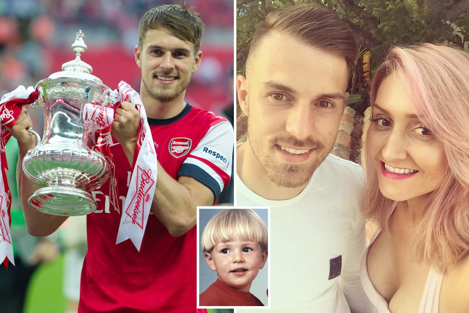 The inside story of Aaron Ramsey's rise from a shy Caerphilly boy to one of Britain's most expensive and talented football stars