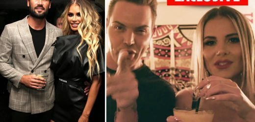 Chloe Sims and Dan Edgar 'heading down the aisle', predicts Bobby Norris and Georgia Kousoulou who want to be bridesmaids