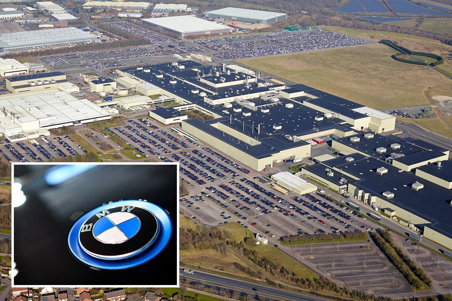 BMW eyes Honda's giant Swindon plant in show of confidence in British car industry