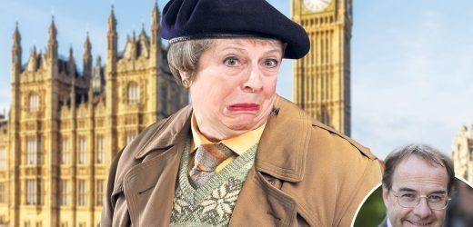 Theresa May is like Frank Spencer but without any laughs — it's time she went