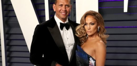 Alex Rodriguez Squeezes Jennifer Lopez's Butt On The Set Of Her New Stripper Movie — New Pic