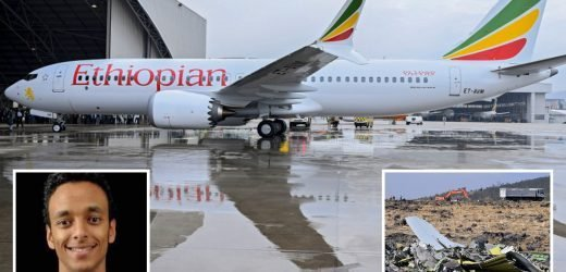 Ethiopian Airlines jet was configured to dive before doomed jet took off and lurched hundreds of feet up and down as pilot desperately tried to rescue it