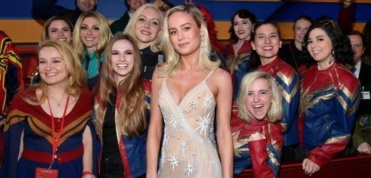 You Need To See Brie Larson's Ripped Arms At The 'Captain Marvel' Premiere