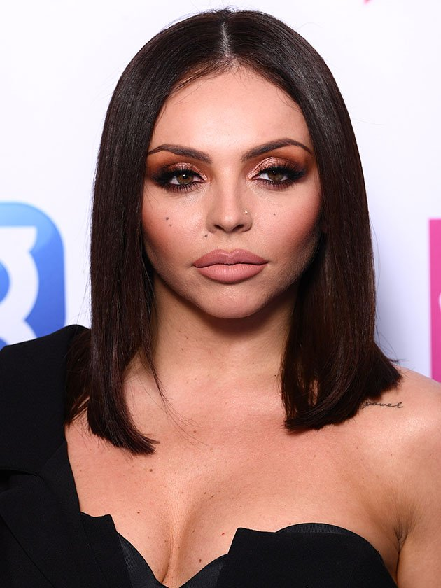 Little Mix's Jesy Nelson poses in PVC bra for seriously sexy snap