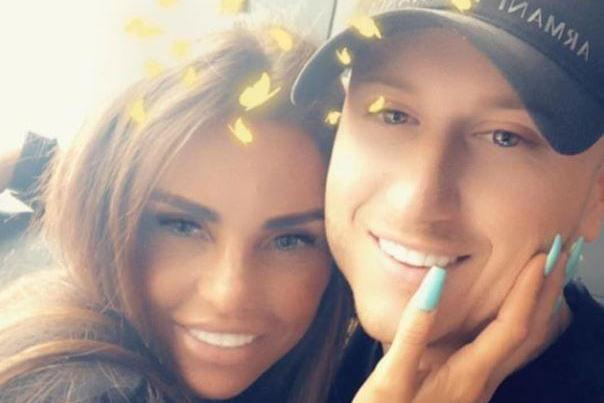 When did Katie Price start dating Kris Boyson, did he cheat on her and does he have Instagram?