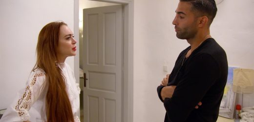 Lindsay Lohan addresses Brent/Kyle fight in Beach Club clip