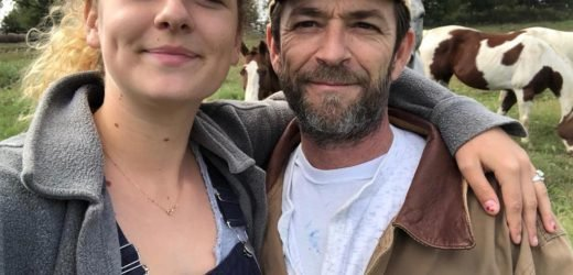 Luke Perry's daughter Sophie breaks her silence after his death