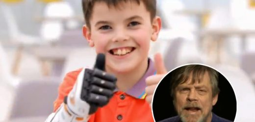 Mark Hamill Congratulates 11-Year-Old 'Star Wars' Fan on Amazing BB-8 Bionic Arm