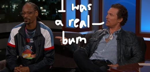 Matthew McConaughey Accidentally Smoked Snoop Dogg's Weed & Rapped For '13 Hours Straight'