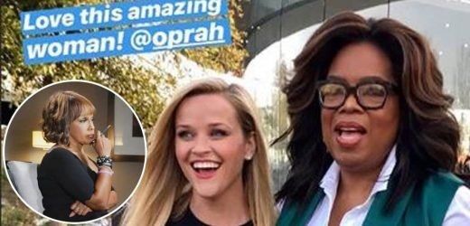 Reese Witherspoon Nails Impression Of Gayle King for Oprah
