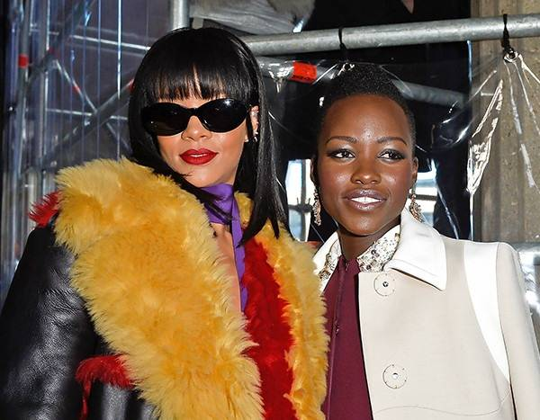 Lupita Nyong'o Talks About Her Upcoming Secret Project with Rihanna