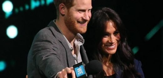 Prince Harry Brings Meghan Markle Onstage for Surprise Appearance