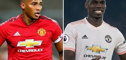 Pogba set to be named Man Utd captain with Valencia ready to leave in summer