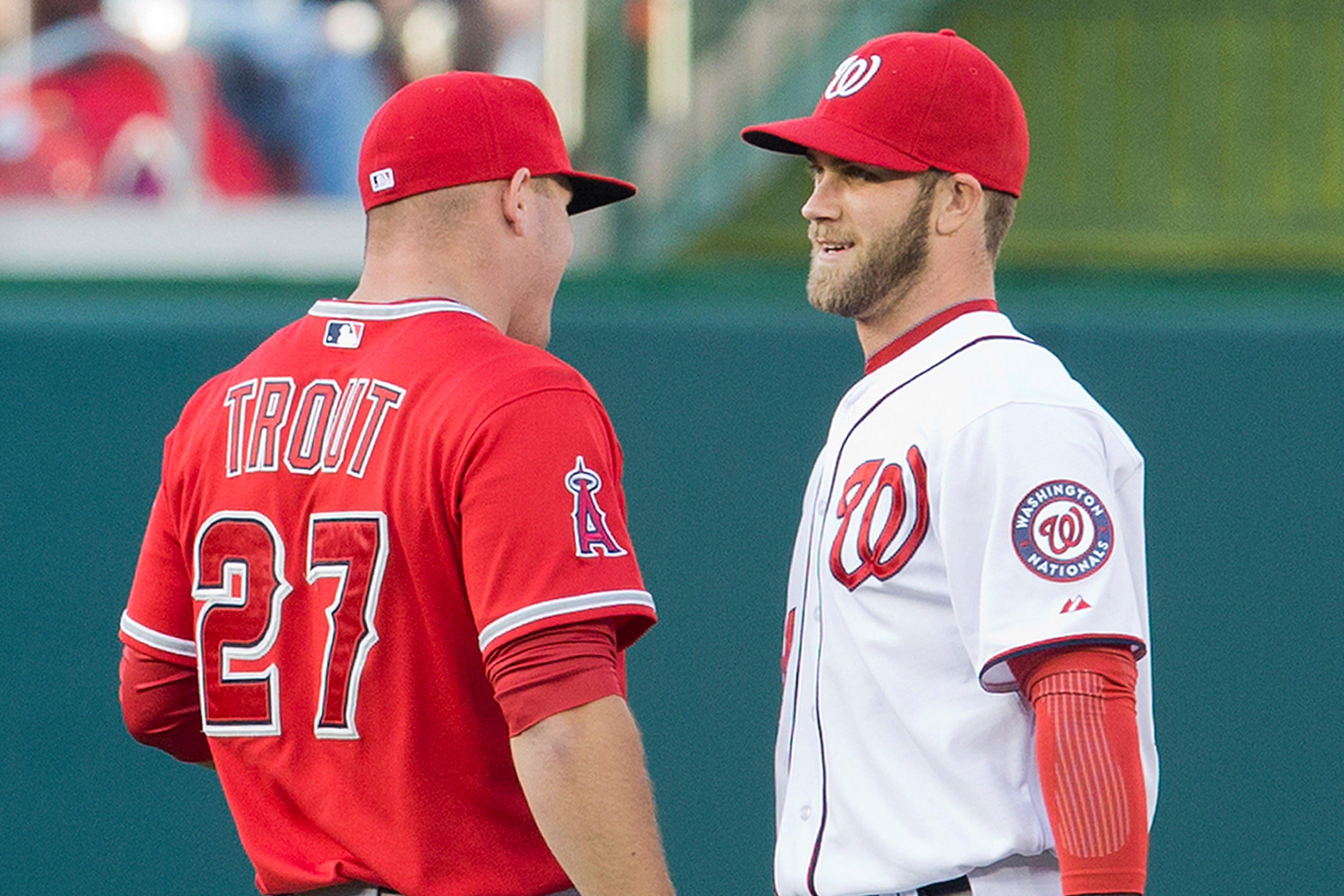 Bryce Harper disregards tampering, sends loud message to Mike Trout