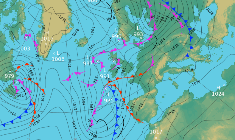 Tuesday's UK weather forecast — showers move east but rain and coastal gales hit the southwest later