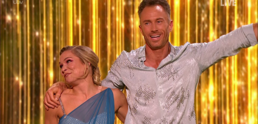 Dancing On Ice's James Jordan left speechless as he gets perfect score TWICE in semi-final – but blunder meant Christopher Dean almost gave him ONE point