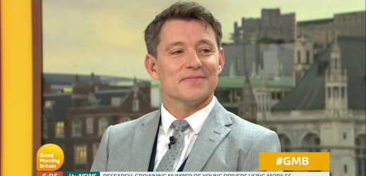 Ben Shephard looks emotional as his poem is read out on GMB – before yelling 'STOP' as Kate Garraway recites her 'fetish' limerick