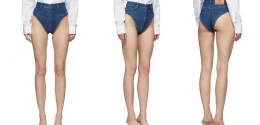 Fashion brand mocked for $470 denim panties: 'Take your Canadian tuxedo to the next level'