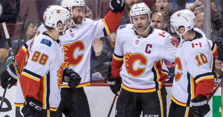 Mark Giordano tallies 3 points, leads Calgary Flames to 3-1 win over Vancouver Canucks