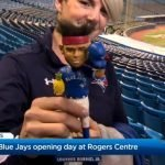 Preparations underway at Rogers Centre for Toronto Blue Jays opening day