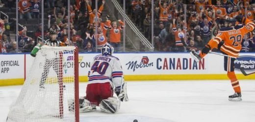 Edmonton Oilers scratch out OT win over New York Rangers