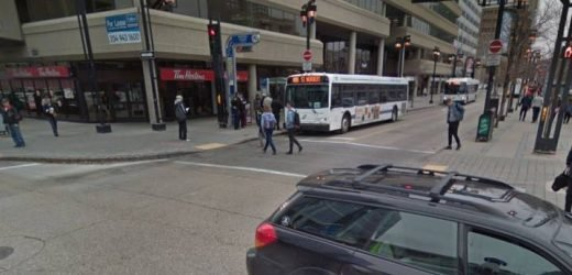 Man arrested for assaulting women, Transit staff at downtown bus shelter