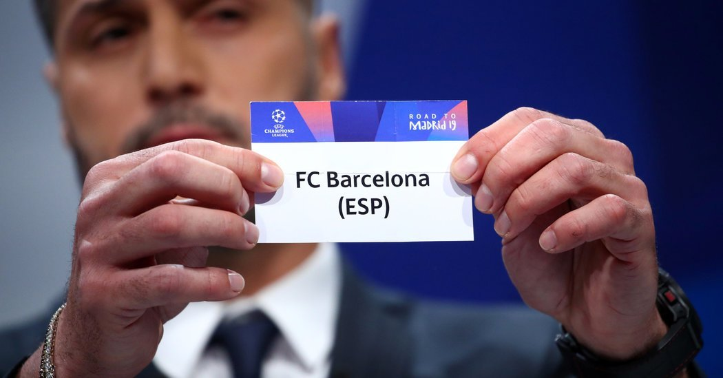 Manchester United Will Face Barcelona in the Champions League
