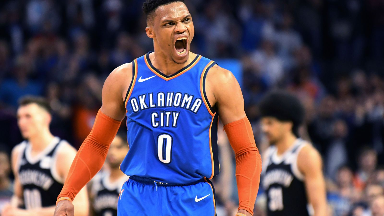 Russell Westbrook Found His Jump Shot And Is Doing Russ Shit Again