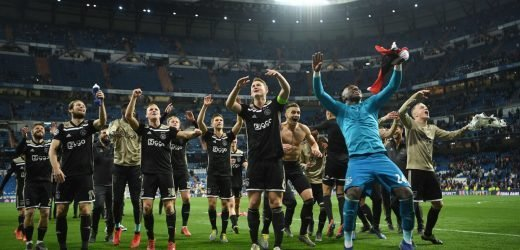 Ajax Poked Real Madrid In Eye, Socked Them In The Gut, And Tossed The Doubled-Over Body In A Wood Chipper