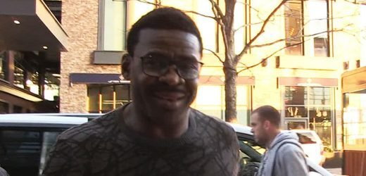 Michael Irvin Grinning Ear To Ear After Cancer-Free Diagnosis