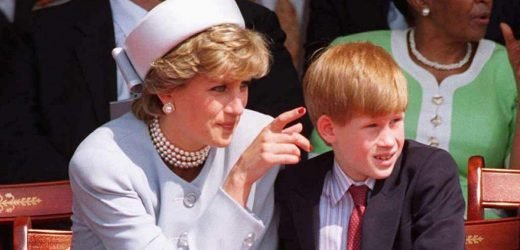 Harry's cheeky request to chef which led to cute handwritten note from mum Diana