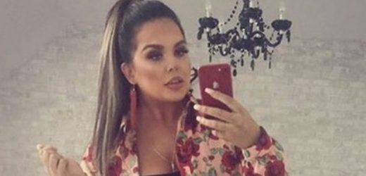 Scarlett Moffatt stuns fans with slimline figure as she poses in tiny hot pants