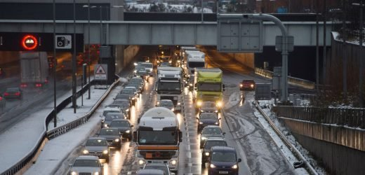 Revealed – Roads drivers are being warned to avoid this Easter amid travel chaos