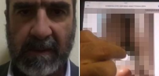 Cantona forced to delete bizarre X-rated video from his Instagram