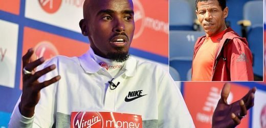 Haile Gebrselassie accuses Mo Farah of attacking a 'married athlete'